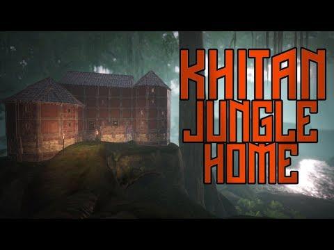 Conan Exiles: Khitan Jungle Home Build Guide (The Imperial East DLC) |