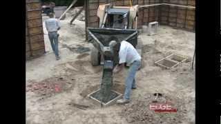 EDGE Concrete Placing Bucket Where a Cement Truck Won't Fit Thumbnail