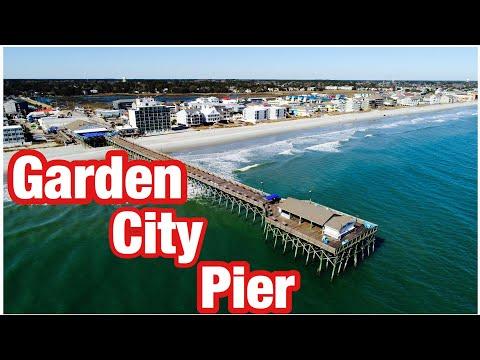 Garden City Pier  Aerial View , SC , Grand Strand