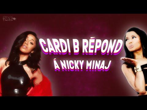 Cardi B répond à Nicki Minaj !