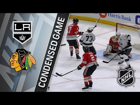 Los Angeles Kings vs Chicago Blackhawks February 19, 2018 HIGHLIGHTS HD