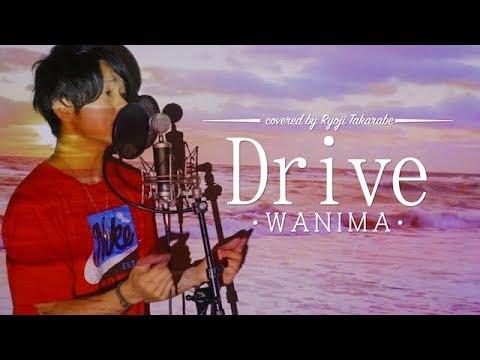 """【原キーで歌ったら喉もげた】"""" Drive"""" WANIMA / 映画『Over Drive』主題歌 covered by 財部亮治【フル歌詞付き】"""