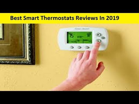 Best Thermostat 2020.Top 3 Best Smart Thermostats Reviews In 2020 Youtube