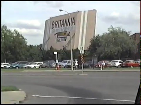 BRITANNIA DRIVE IN THEATRE FAMOUS PLAYERS CINEMAS OTTAWA 1996