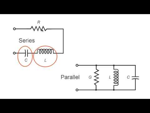 an lab experiment on the examination of the oscillation in an rlc ac circuit
