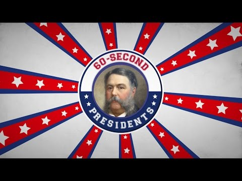 Chester A. Arthur | 60-Second Presidents | PBS