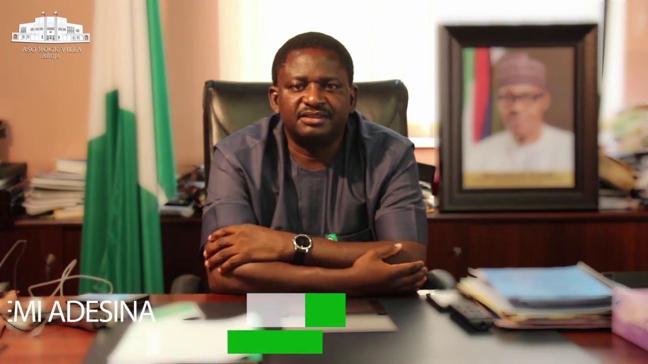 [OPINION] Femi Adesina and demons in Aso Villa - Majeed Dahiru