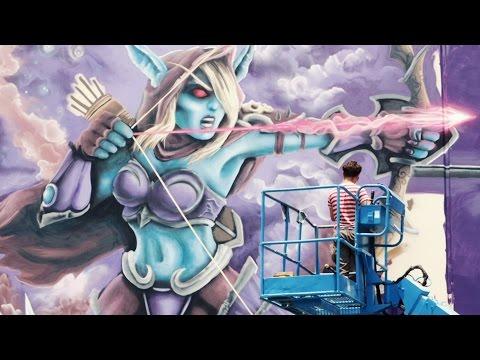 видео: «sprayhem» граффити — heroes of the storm