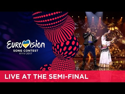 Joci Pápai - Origo (Hungary) LIVE at the second Semi-Final