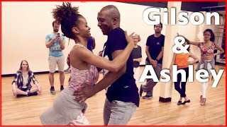 Fun Lambazouk Dance | Gilson Damasco & Ashley | Zouk Atlanta | Lambada Demonstration