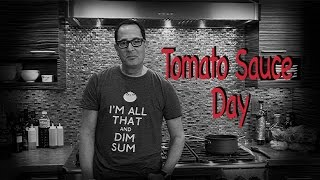 """Sam the Cooking Guy """"Tomato Sauce Day"""" (NEW)"""