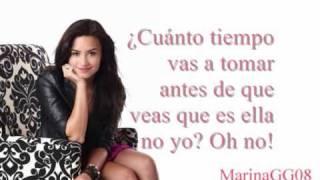 Demi Lovato Every time you lie (traducido español)