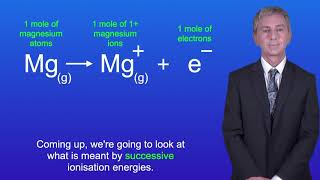 A Level Chemistry First Ionisation Energy