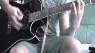 Staind - Right Here (Acoustic) Cover by Mitz