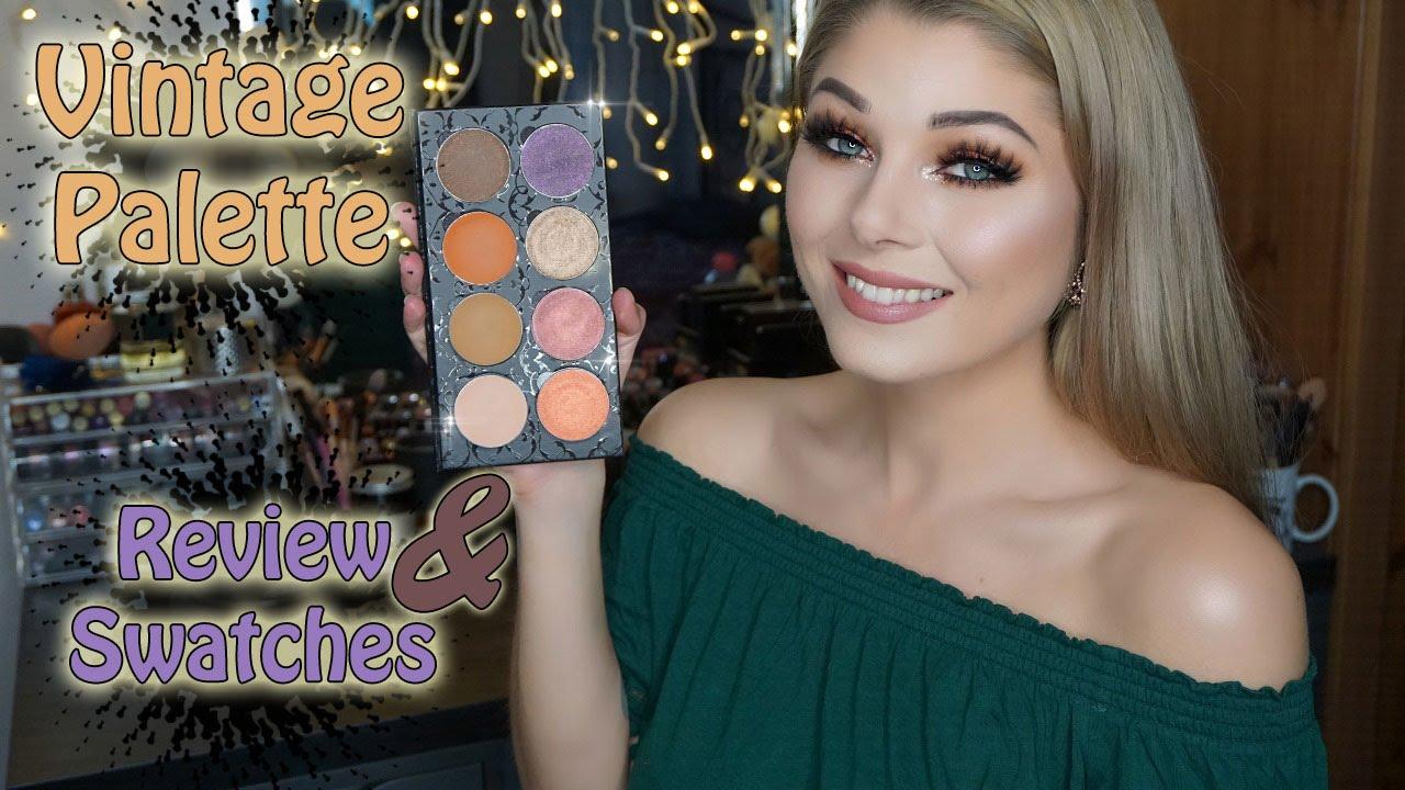 Makeup Addiction Cosmetics Vintage Palette - Review n ...