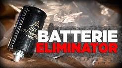 Ohne Batterie Motorradfahren, mit einem Batterie Eliminator