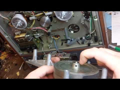 servicing a vintage Teac A-4010s reel to reel