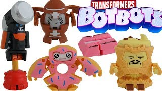 NEW Transformers BotBots 5 Pack Sugar Shocks Jock Squad Robots in Disguise Collection