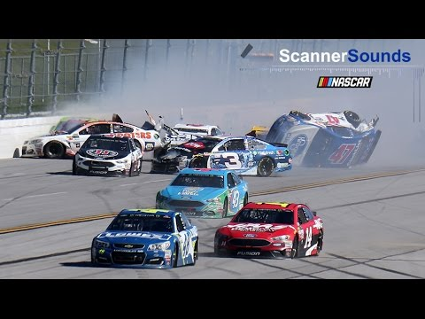 Best in-car audio from Talladega Superspeedway