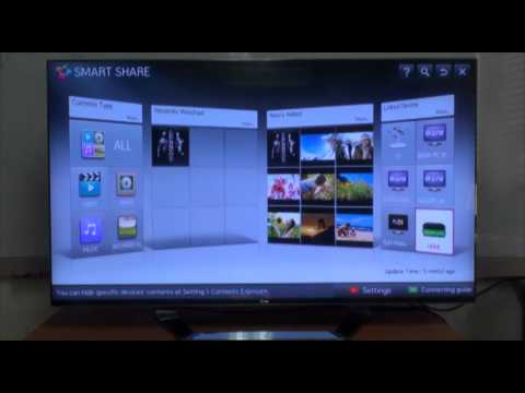 LG Smart TV - How to Use the Smart Share Feature Vol.4