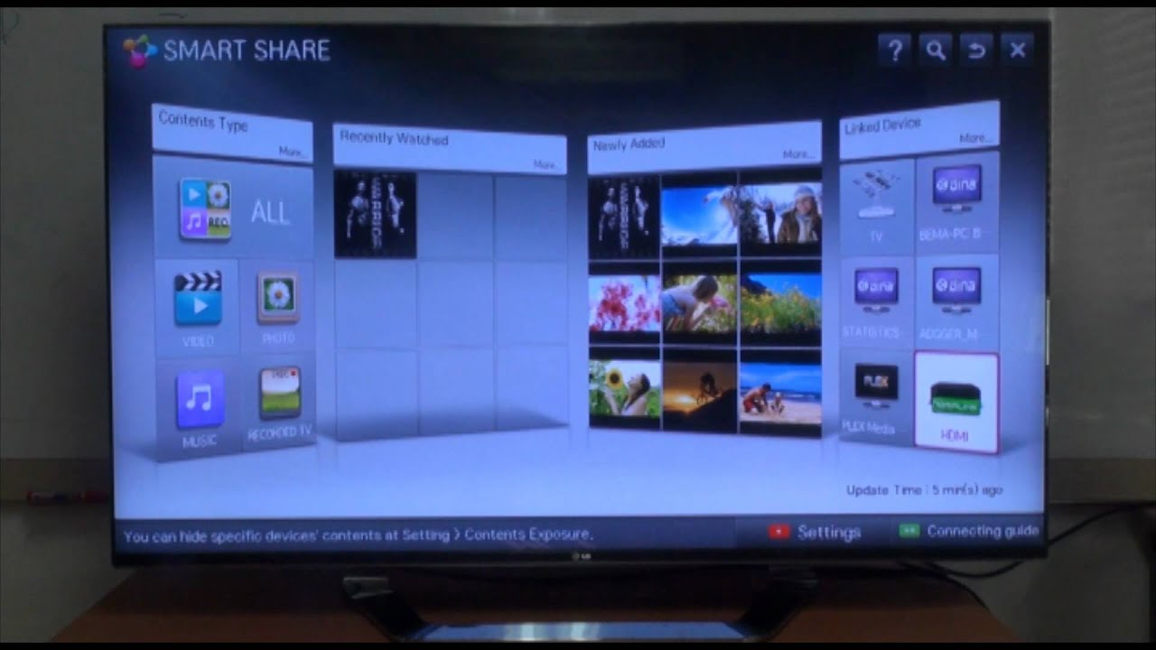 LG Smart TV - How to Use the Smart Share Feature Vol 4