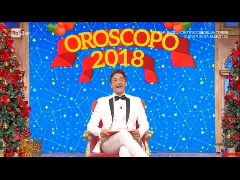 L'oroscopo del 2018 di Paolo Fox - I Fatti Vostri 01/01/2018
