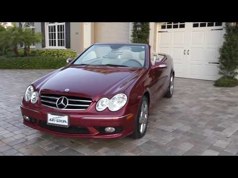 2005 Mercedes Benz CLK500 Cabriolet Review and Test Drive by Bill - Auto Europa Naples