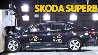 Skoda Superb (2015) CRASH TEST