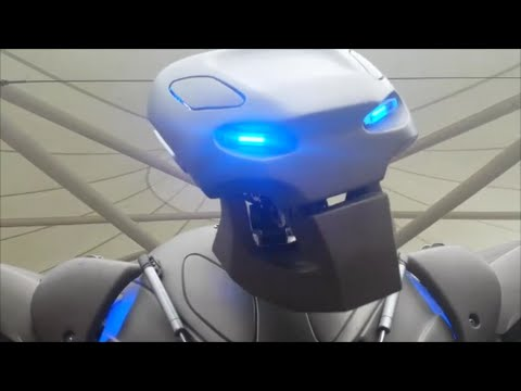 titan the robot tesco leicester oct 24th 2014