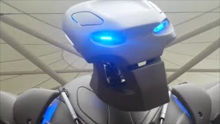 titan the robot tesco leicester oct 24th 2014