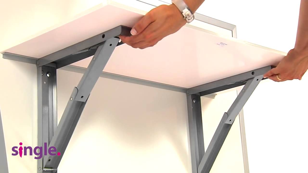 Attirant Wall Mounted Table VULCANO   YouTube