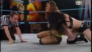 FCW 10th June 2012 - Audrey Marie vs. Paige w/Sofia Cortez