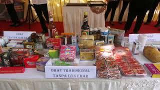 Wartasas : Badan POM RI Musnahkan 3,8 M Obat & Makanan Ilegal di Surabaya