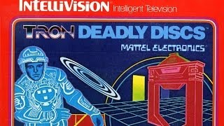 Classic Game Room - TRON: DEADLY DISCS review for IntelliVision