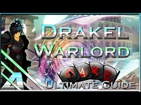 AQW: Drakel Warlord Ultimate Class Guide (Soloing, Enhancements, PVP, Final Review)