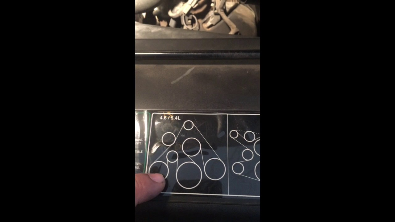 Need A Diagram For A F150 46 Serpentin Belt 1997 Ford F150 Regular