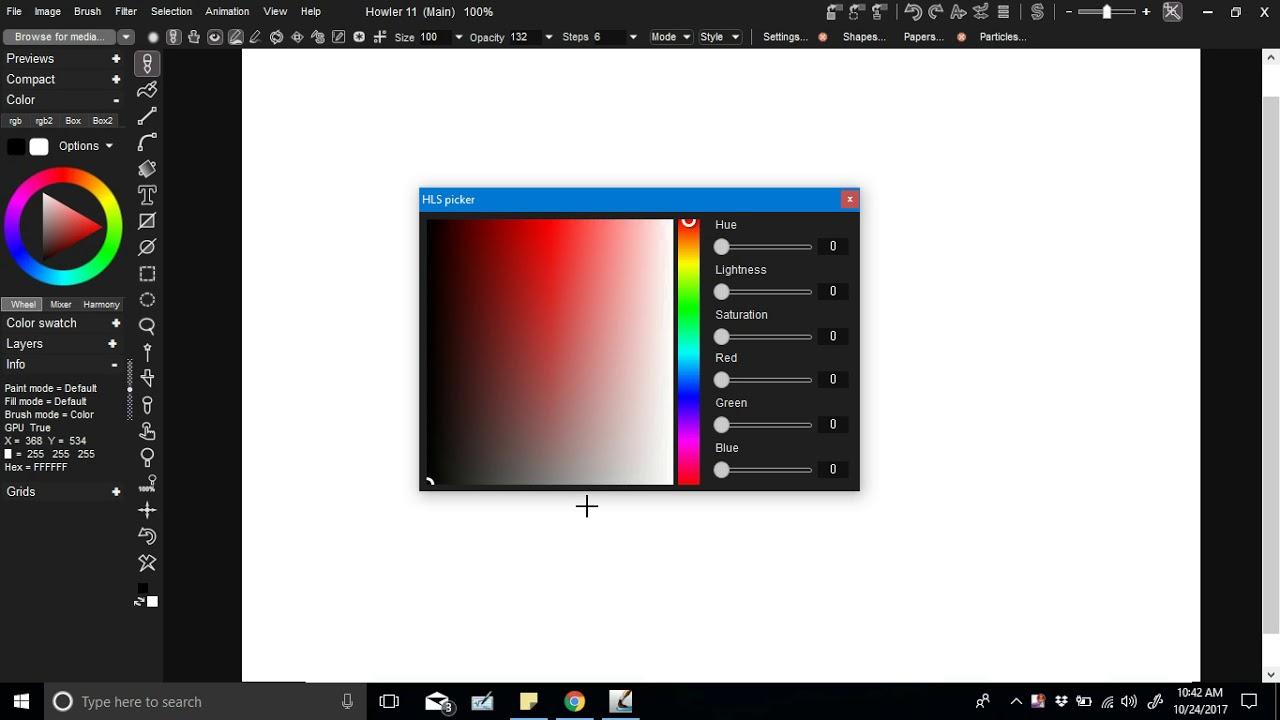 HSL Picker Introduction - - aka HLS color picker