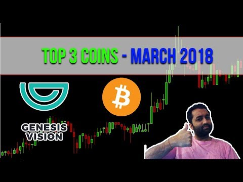 Top 3 Cryptocurrencies - March 2018 | Live Trading with Sneh