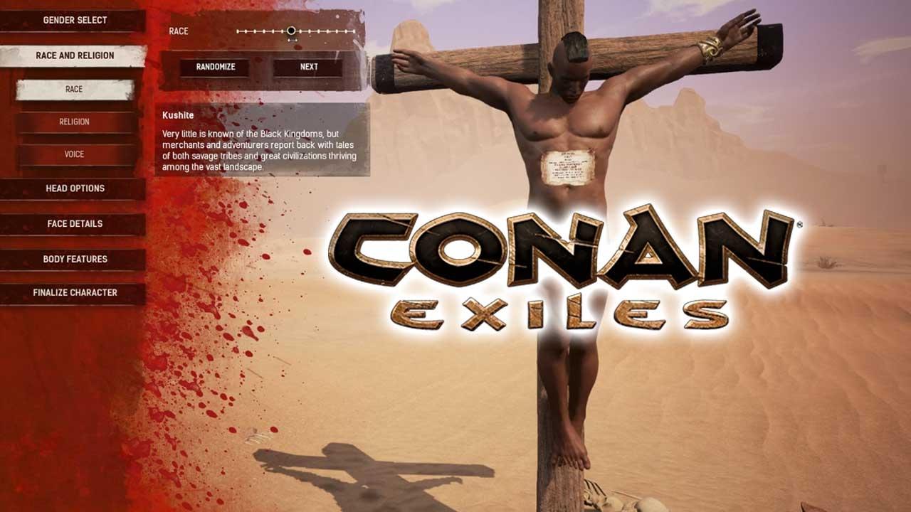 conan exiles how to cancel an emote