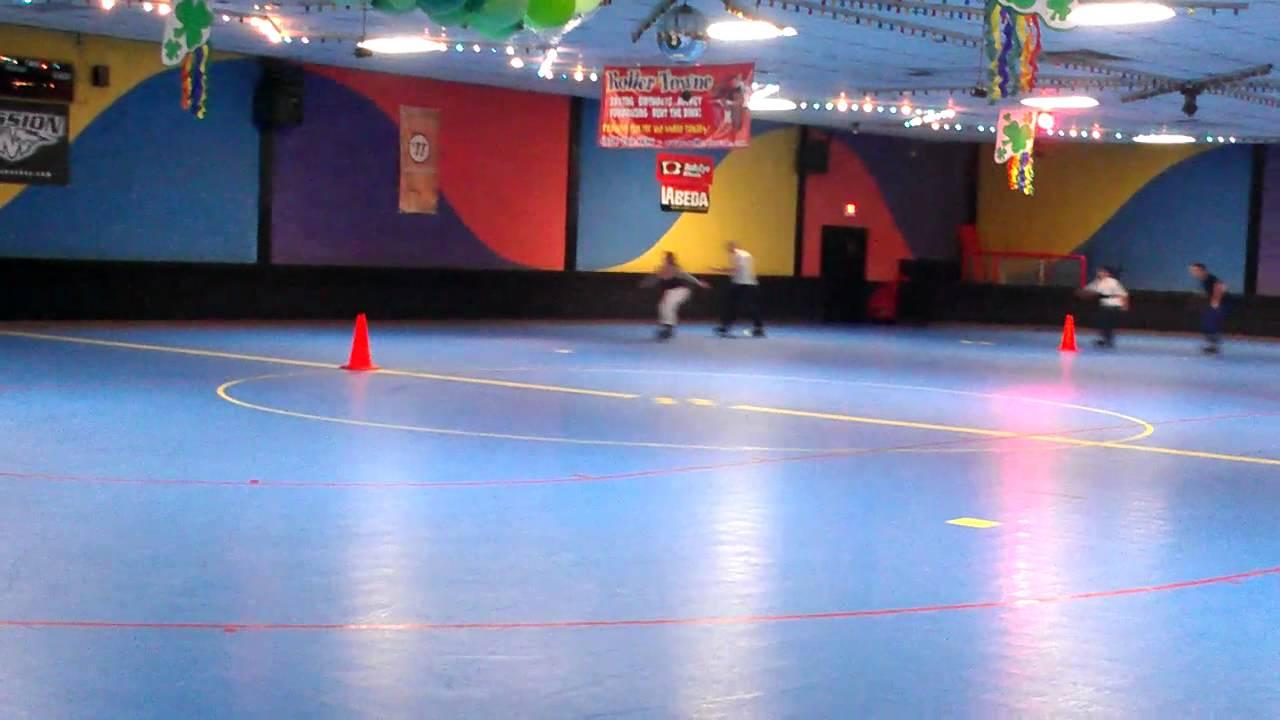 Roller skating visalia - Roller Town Race In Visalia