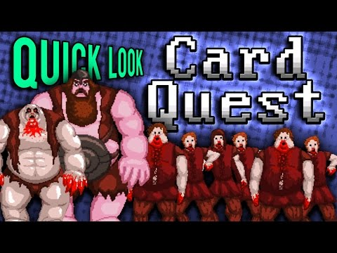 Quick Look: Card Quest | RPG Deck Builder (Let's Play Card Quest / Gameplay First Impressions)