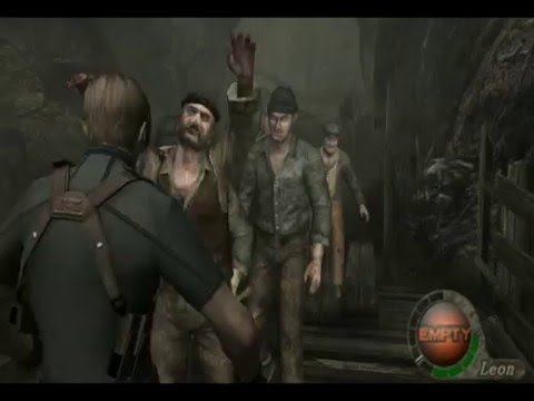 Let's Play Resident Evil 4 (2) - Knife Only/No Merchant/Kill All (1-3 Part 2 & 2-1)