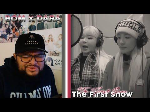 BOM X DARA - The First Snow MV REACTION!!! | The Way Dara Sings This! #TakeMeBack