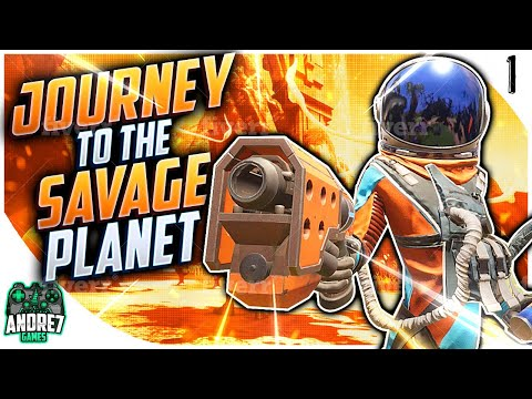The Journey to the Savage Planet - PART 1 - FUNNIEST CO-OP GAME?? |