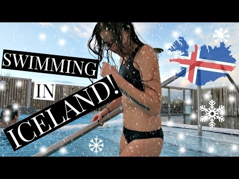 Iceland Vlog! Swimming In A Geothermal Pool ❄ What I Ate Today Vegan