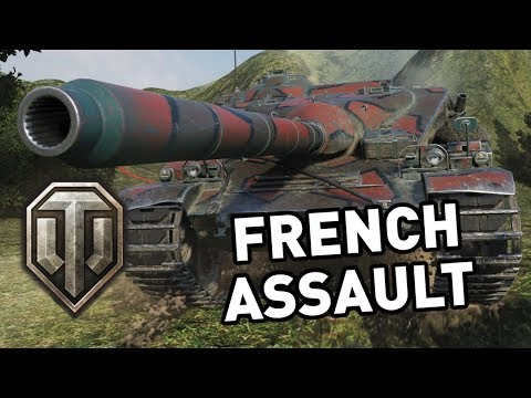 World of Tanks || French Assault!