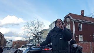 MLK RALLY LIT ON BLUE HILL AVE. BOSTON MASS