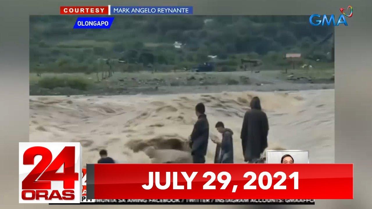 Download 24 Oras Express: July 29, 2021 [HD]