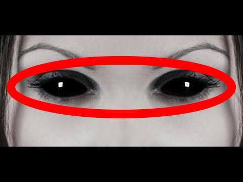 【閲覧注意】 地球上で最も不気味な黒い目の少女が 発見される!? 世界が震えた!遭遇したら マジでヤバすぎる・・・