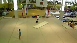 Кабанова Влада, 7 лет - вольные упражнения